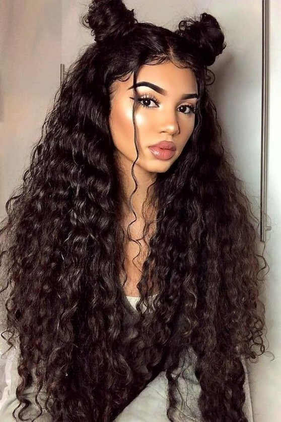 Natural Long Hairstyle