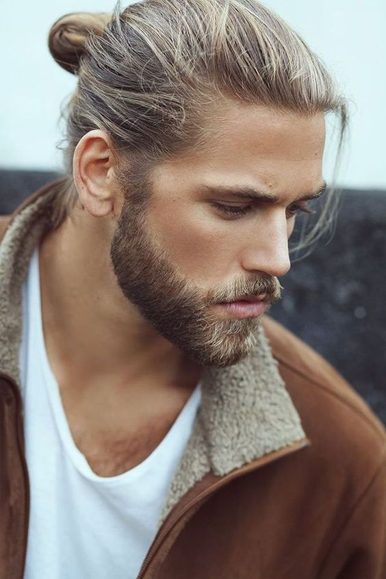 Blonde hair mens