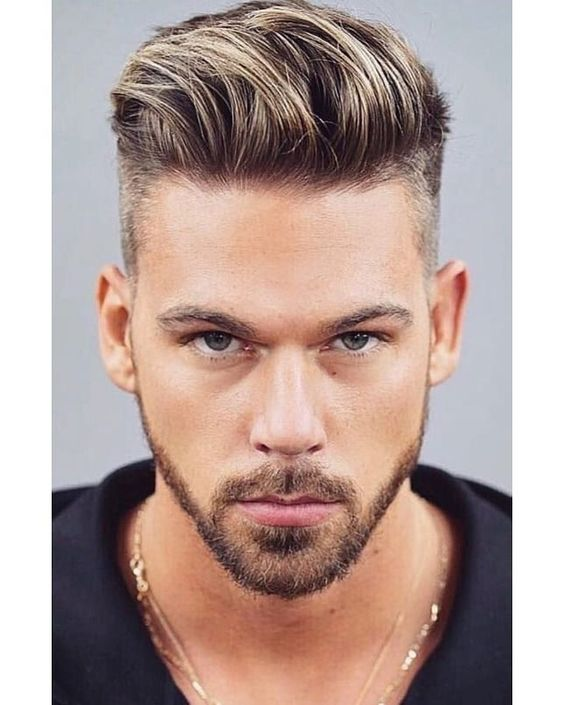 Cute haircut for men