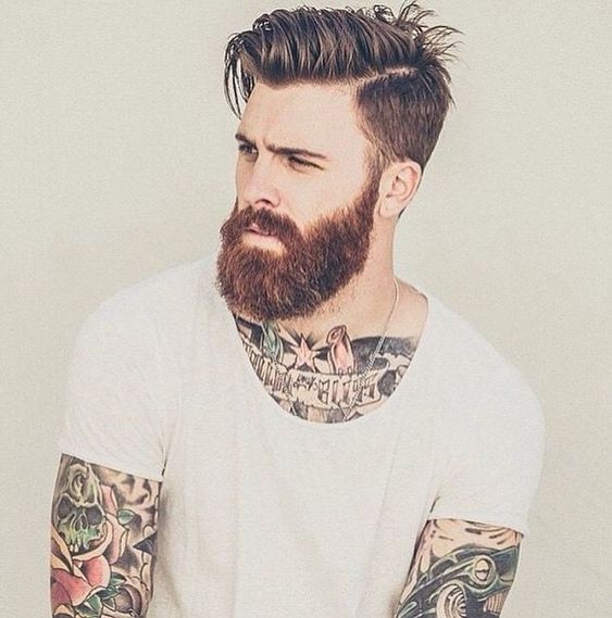 Trendy men haircuts