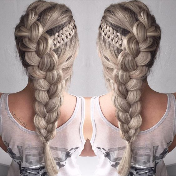 Four Strand Accent Braids
