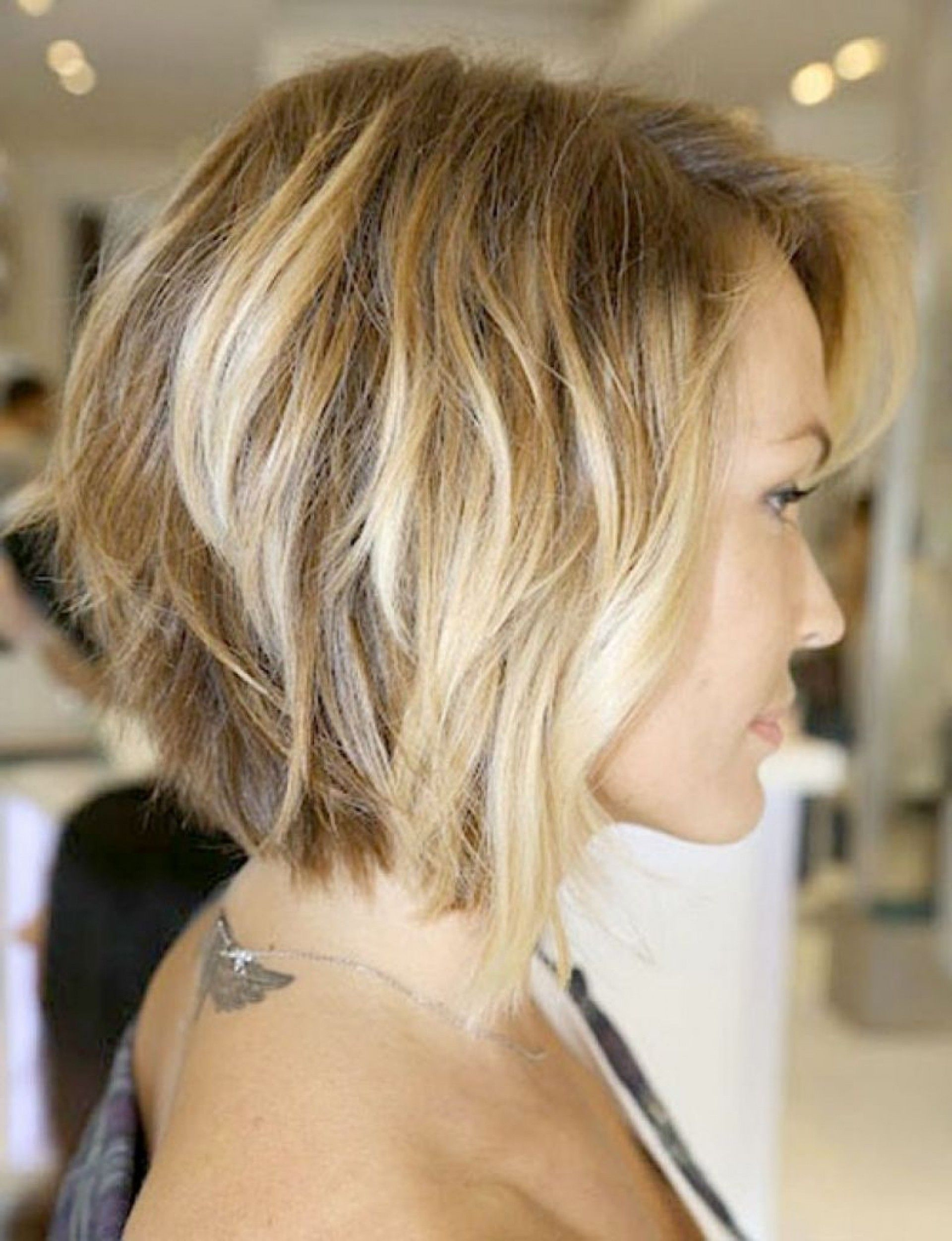 Layered bob hairstyles over 40