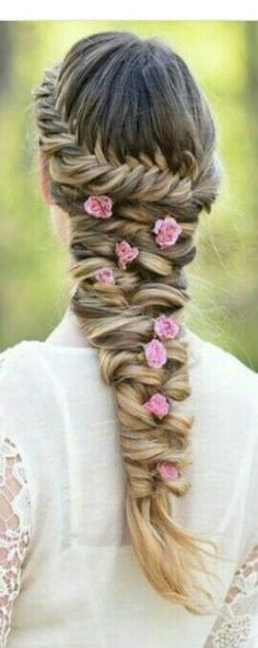 Little Fishtail hairstyles