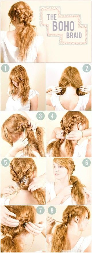 The Boho Braid style